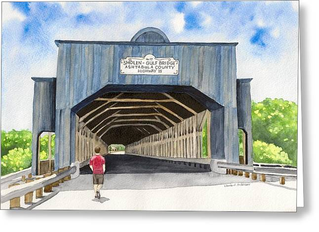 Smolen-gulf Bridge Greeting Card