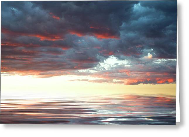 Smooth Sailing Greeting Card by Jerry McElroy