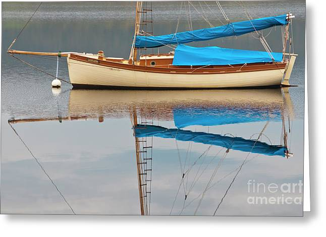 Greeting Card featuring the photograph Smooth Sailing by Werner Padarin