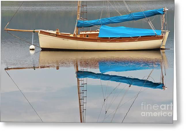 Smooth Sailing Greeting Card by Werner Padarin
