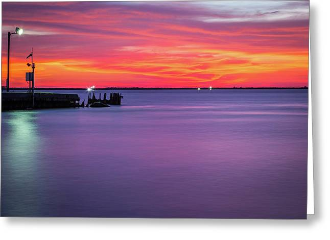 Smooth Waters Greeting Card