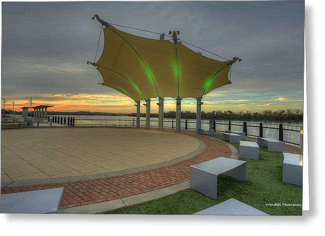 Smothers Park Band Shell Greeting Card