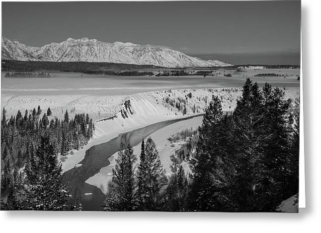 Snake River View Greeting Card