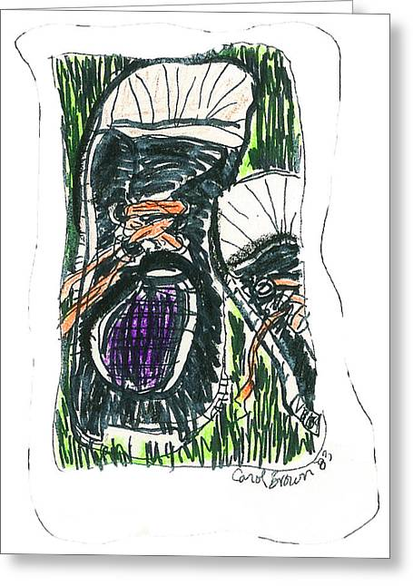 Sneakers Greeting Card by Macaque