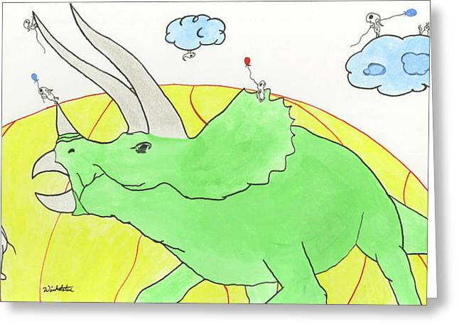 Sneakrets At The Extinction Moment Greeting Card