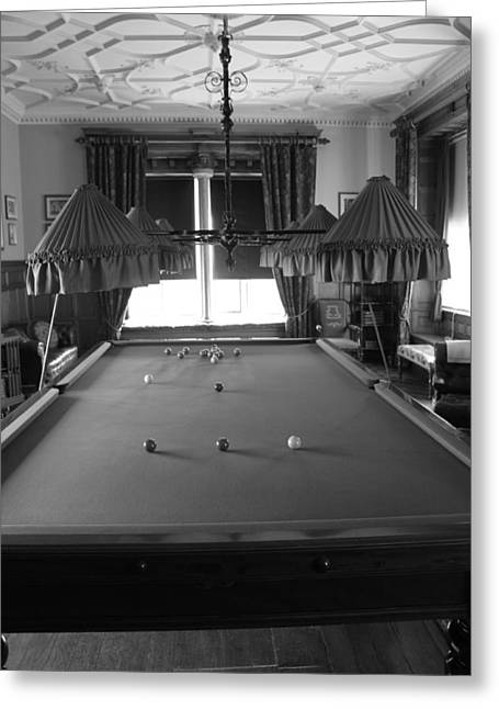 Cue ball greeting cards page 3 of 8 fine art america snooker room greeting card m4hsunfo