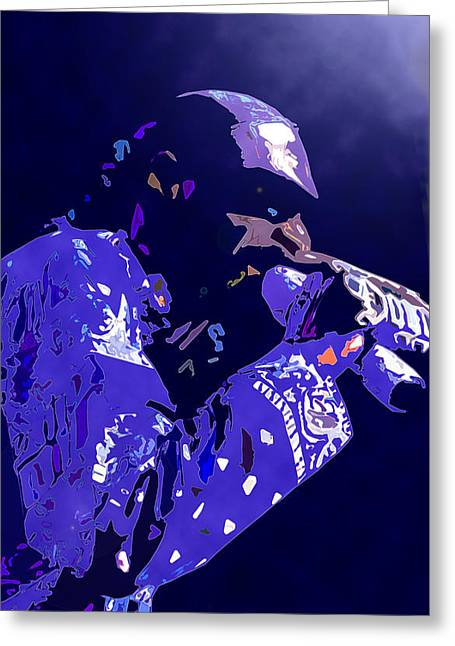 Snoop Doggy Dogg Greeting Card by  Fli Art