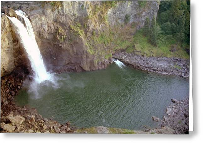 Snoqualmie Falls 3 Greeting Card by Steve Ohlsen