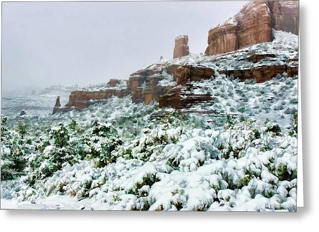 Snow 06-037 Greeting Card