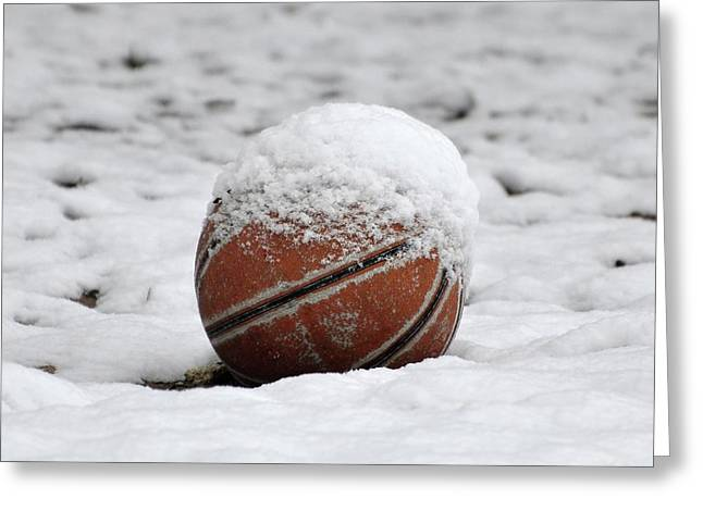 Snow Ball Greeting Card by Al Powell Photography USA