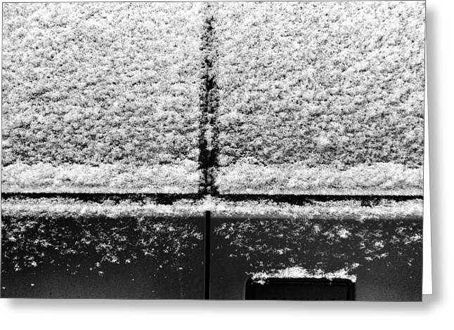 Snow Covered Rear Greeting Card