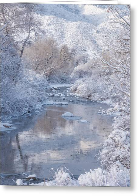 Snow Creek Greeting Card