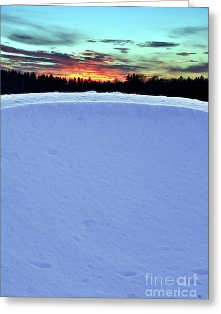 Snow Drift Greeting Card by Hannes Cmarits