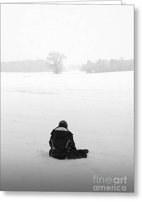 Greeting Card featuring the photograph Snow Wonder by Brian Jones