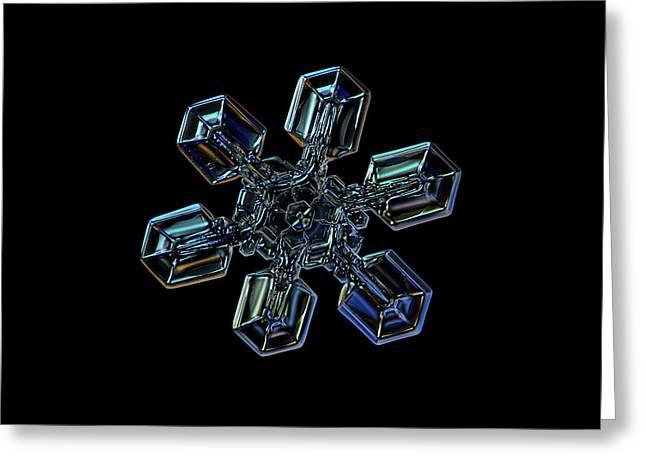 Snowflake Photo - High Voltage IIi Greeting Card