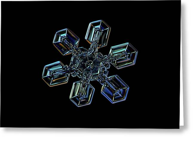 Snowflake Photo - High Voltage IIi Greeting Card