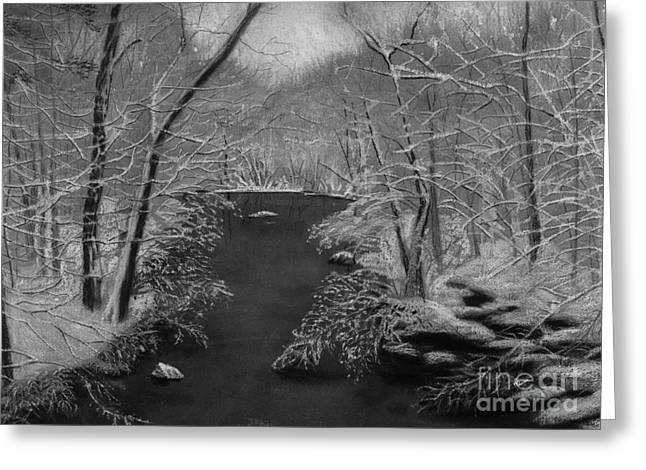 Snowy River Greeting Card