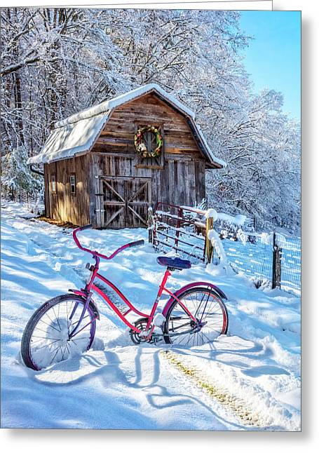 Snowy Surprise Greeting Card
