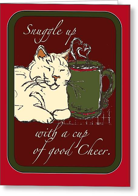 Snuggle Up Greeting Card by Tina Welter