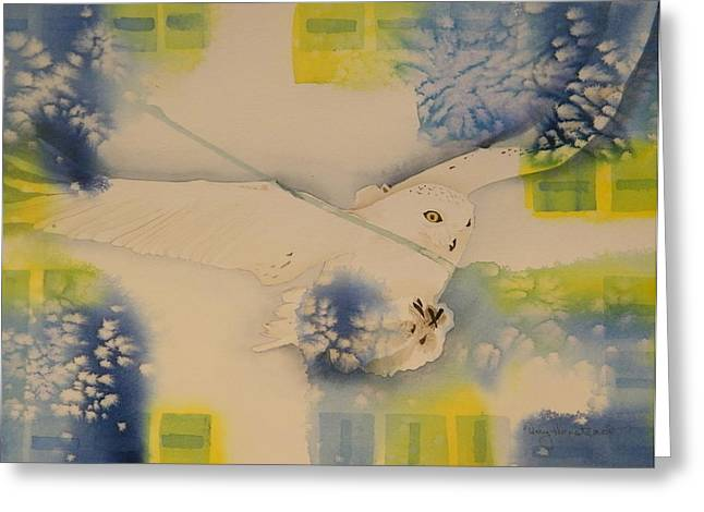 S.o. Cold Greeting Card by Terry Honstead