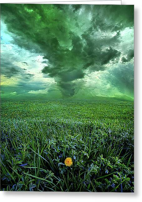 So Do Not Fear For I Am Always With You Greeting Card by Phil Koch