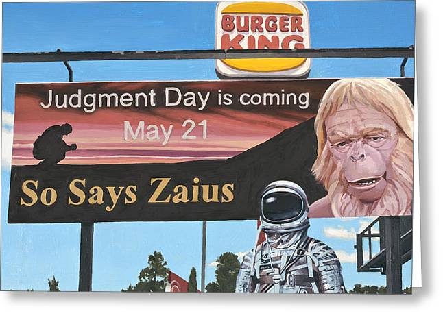 So Says Zaius Greeting Card
