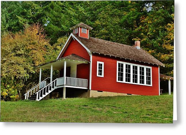 Soap Creek Schoolhouse Greeting Card