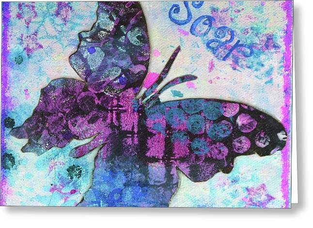 Soar Butterfly Greeting Card