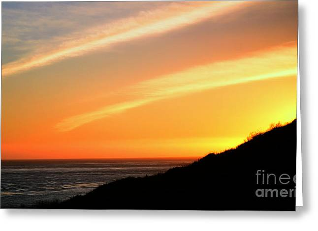 Greeting Card featuring the photograph Socal Sunet by Clayton Bruster