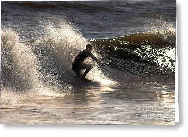 Socal Surfing Greeting Card by Clayton Bruster