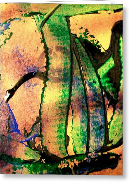 Social Climbers Greeting Card by Bruce Combs - REACH BEYOND