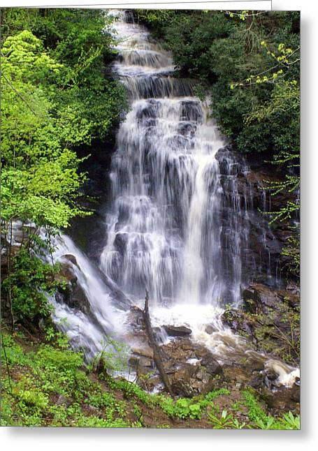 Soco Falls 1 Greeting Card by Marty Koch