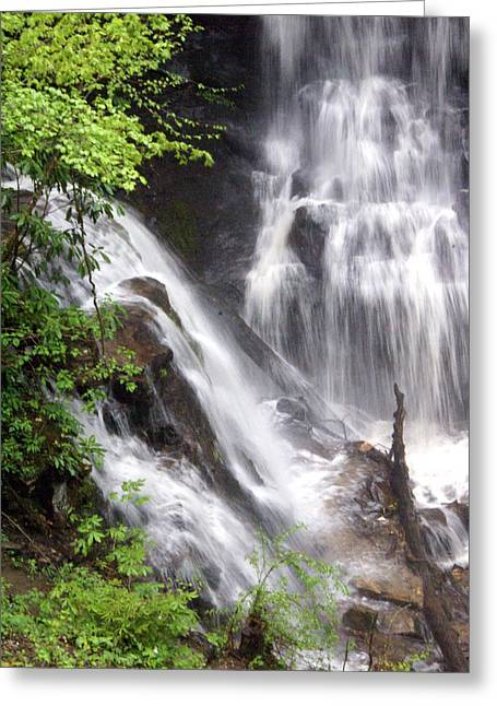 Soco Falls 2 Greeting Card by Marty Koch