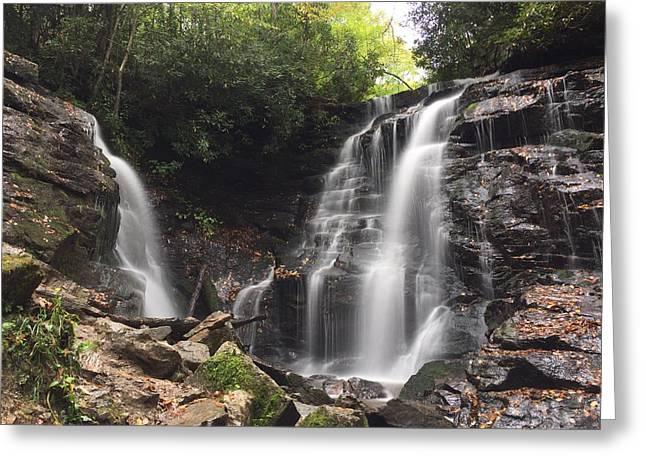 Soco Falls-landscape Version Greeting Card