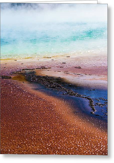 Greeting Card featuring the photograph Soda Water by Jeffrey Jensen