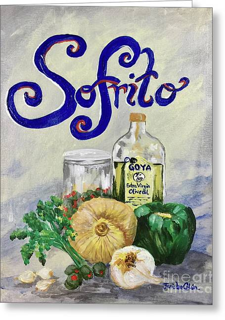 Sofrito Greeting Card