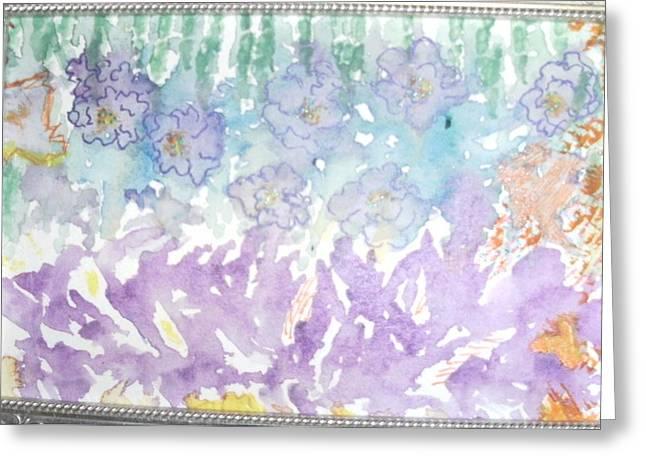 Soft And Pretty Greeting Card by Anne-Elizabeth Whiteway