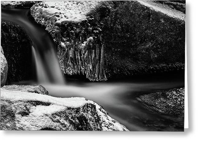 soft and sharp at the Bode, Harz Greeting Card