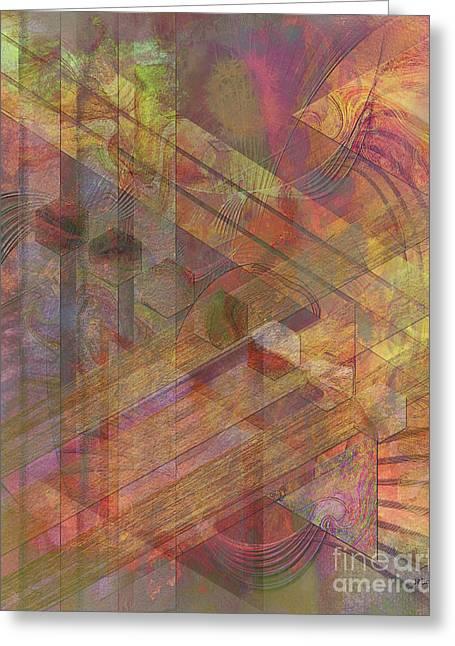 Soft Fantasia Greeting Card by John Beck