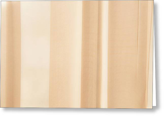 Soft Focus Curtain Background Greeting Card