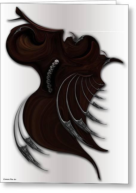 Soft Metamorphosis Greeting Card