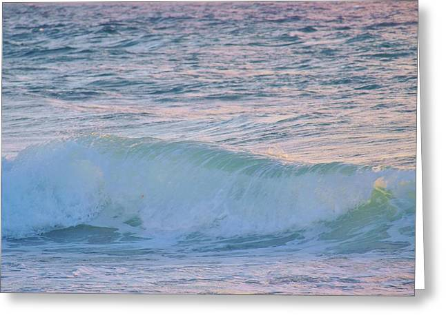 Soft Oceans Breeze  Greeting Card by E Luiza Picciano