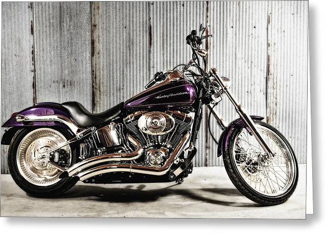 Softail Deuce Greeting Card