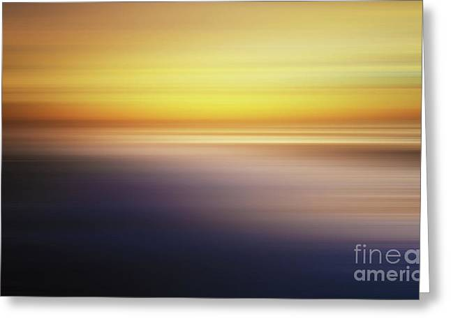 Softness Of Light Greeting Card by Bob Christopher