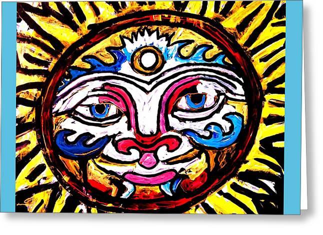 Sol Horizon Band Greeting Card