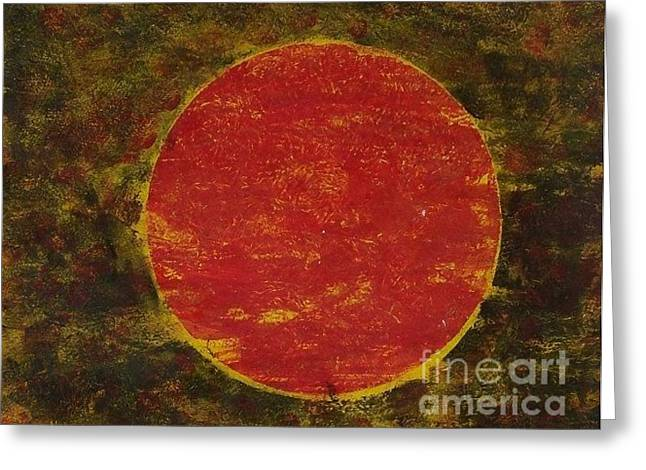 Sol Greeting Card by Joseph Callahan