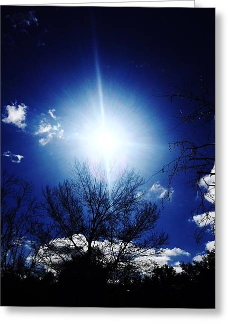 Sol Greeting Card by Robert Chambers