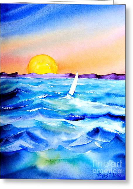 Sol Searching Greeting Card