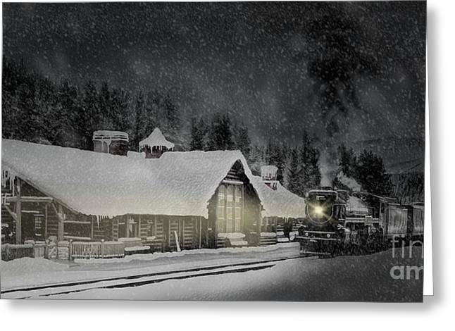Greeting Card featuring the photograph Solace From The Storm by Brad Allen Fine Art