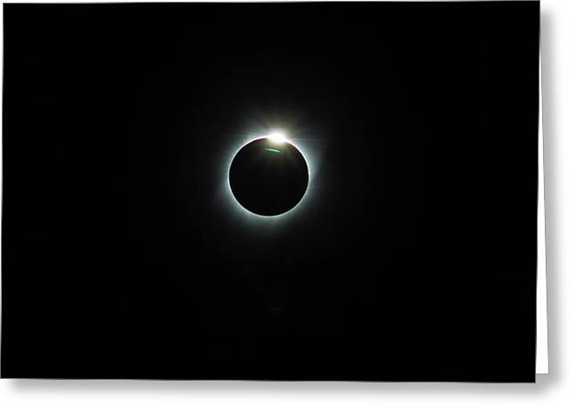 Solar Eclipse 2017 Greeting Card by David Gn